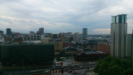 Crowne Plaza Birmingham City Centre: View from the 9th floor