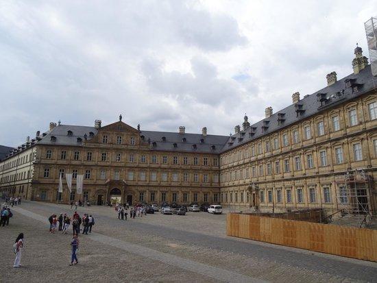 Neue Residenz a Bamberg.