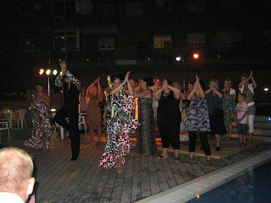 Hotel Papi: Flamenco show