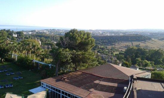 Hotel TRH Paraiso Costa del Sol: View from breakfast room