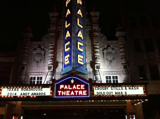 Louisville Palace: The marquee on March 8, 2014
