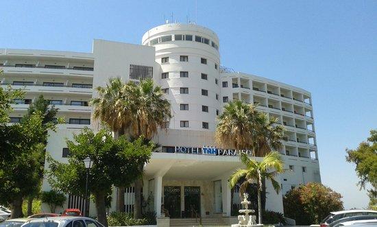 Hotel TRH Paraiso Costa del Sol: Front of hotel