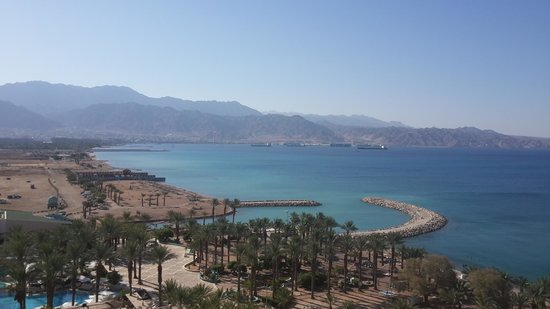 Dan Eilat : East side view from the terrace