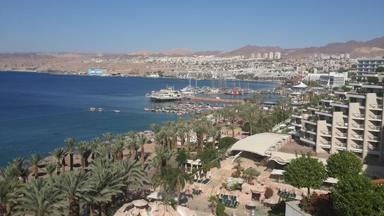 Dan Eilat : West side view from the terrace