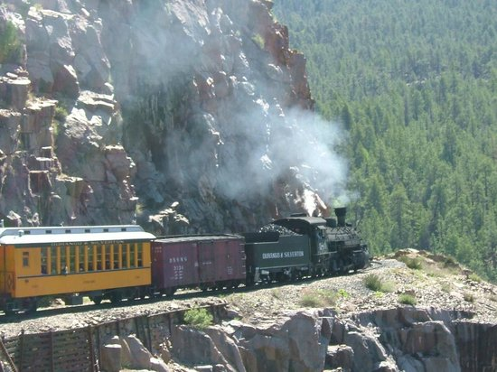 Durango and Silverton Narrow Gauge Railroad and Museum : Narrow Gauge Railroad