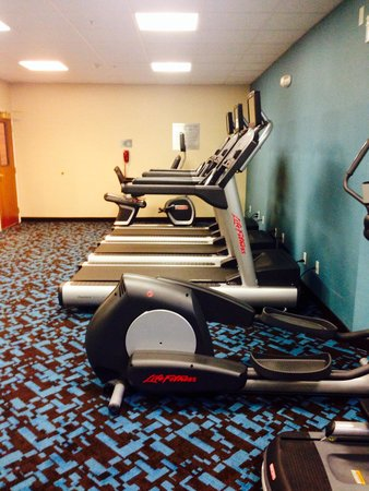 Fairfield Inn & Suites Rancho Cordova : Gym