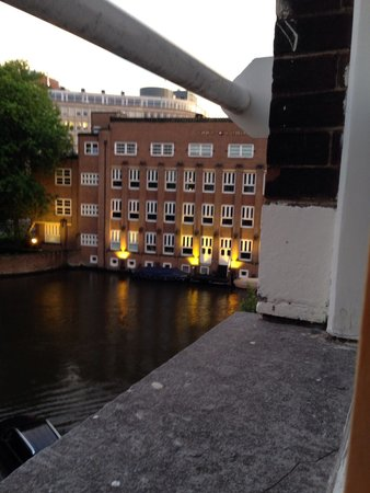 Quentin Amsterdam Hotel: View from room 203