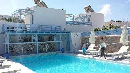 Amelie Hotel: piscina