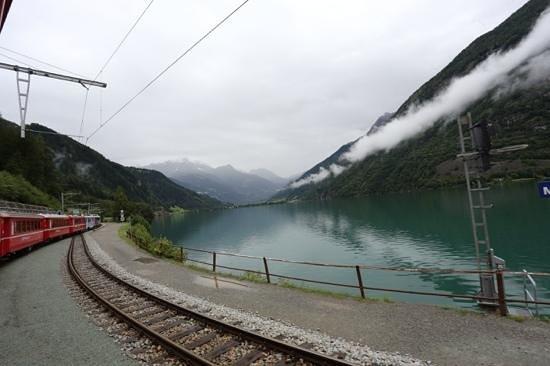 Bernina Express: great views