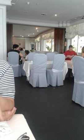 Hotel TRH Paraiso Costa del Sol: Lunch and dinner restaurant