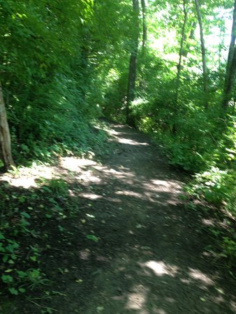 Philadelphia / West Chester KOA: Trails are somewhat maintained