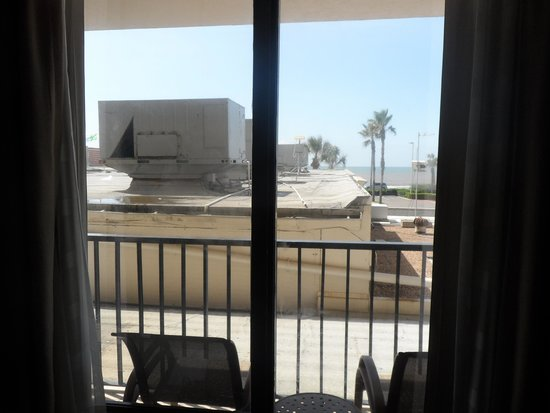 Holiday Inn Resort Galveston-On The Beach: Books weeks in advance, paid nonrefundable full price for this view.