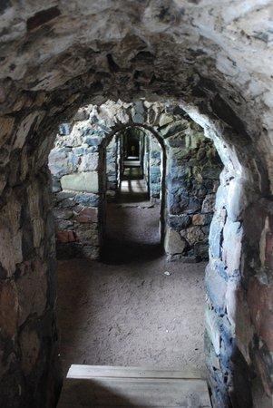 Forteresse de Suomenlinna : gangen van het fort