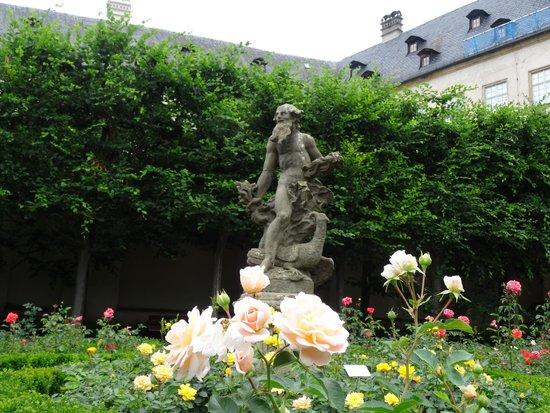 Rosengarten der Neuen Residenz: Giardino delle Rose a Bamberg.