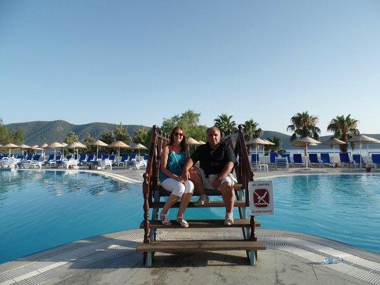 Bodrum Holiday Resort & Spa : havuz