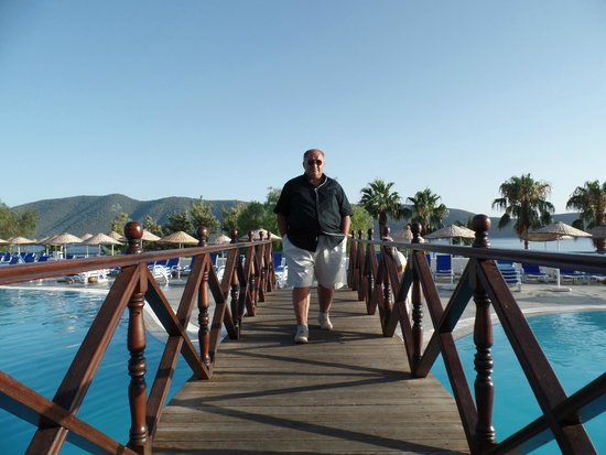 Bodrum Holiday Resort & Spa : havuz başı