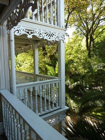 Vue chambre avec balcon photo de hotel la maison blanche for Restaurant la maison blanche montpellier