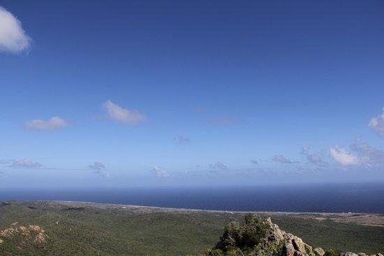 Mount Christoffel: Vista