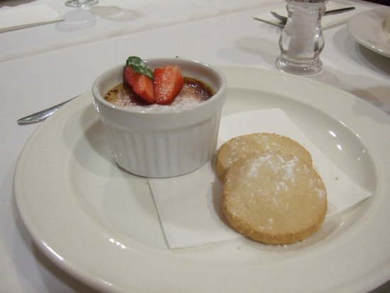 Michael Frith at Bennetts Brasserie: Brulee