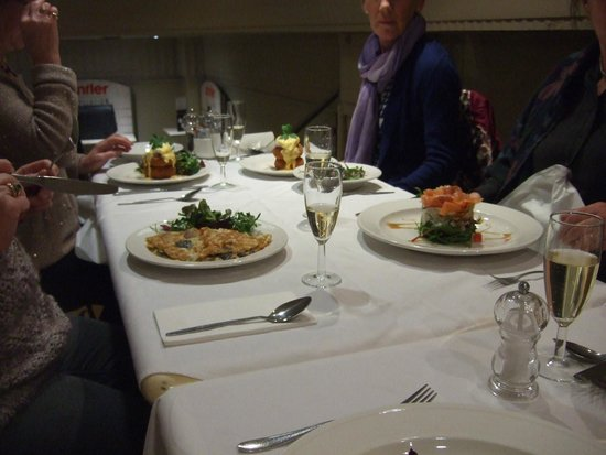 Michael Frith at Bennetts Brasserie: All looks good!