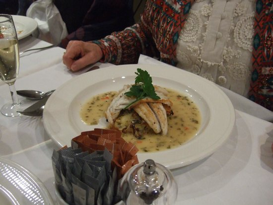 Michael Frith at Bennetts Brasserie: Fish