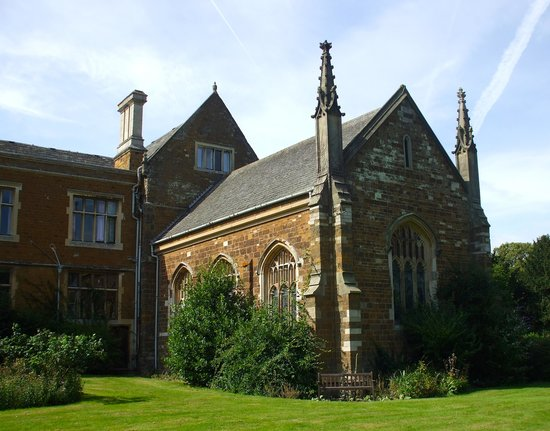 Launde Abbey: The rear of the chapel