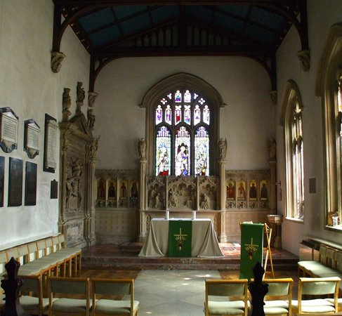 Launde Abbey: The Chapel