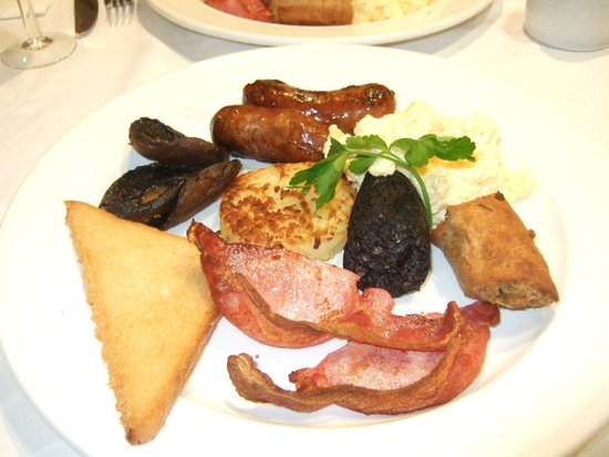 Michael Frith at Bennetts Brasserie: We sometimes swap food on our plates!