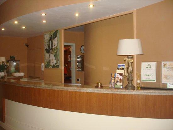 Hotel Villa Ida : La Receptions