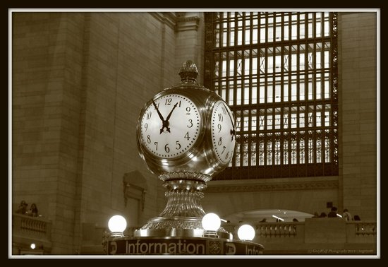 Grand Central Terminal : Frozen in Time