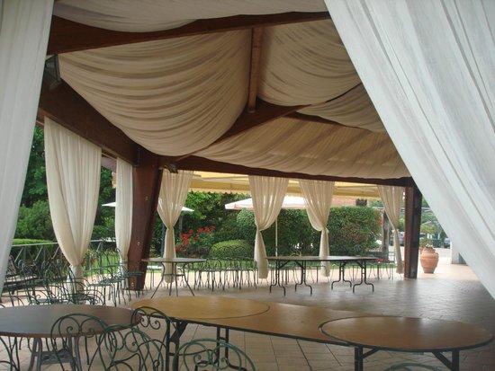 Hotel Villa Ida : Grande Gazebo all' aperto