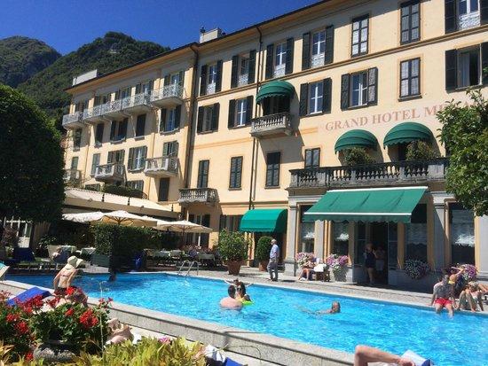 Grand Hotel Menaggio: Rear of Hotel