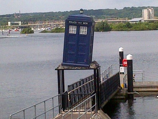 Travelodge Cardiff Atlantic Wharf: Nearby Dr Who Exhibition