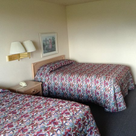 Cactus Hill Motel: Large rooms with amazing views