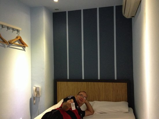 Park 22 Hotel: Guessing we didn't get one of the re-furnished rooms ��