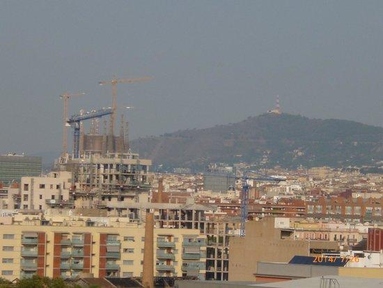 Vincci Bit: 屋上から見えるサグラダファミリア