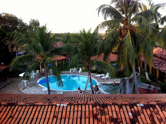 Pantanal Mato Grosso Hotel: View over the grounds from the sightseeing balconies