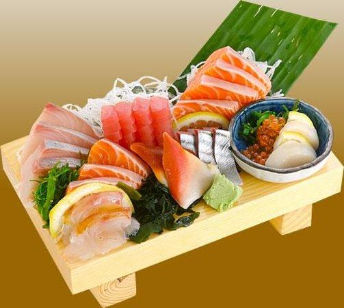 Bravo: sashimi available in season