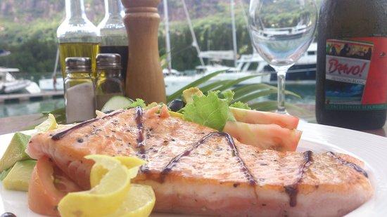Bravo : seared tuna