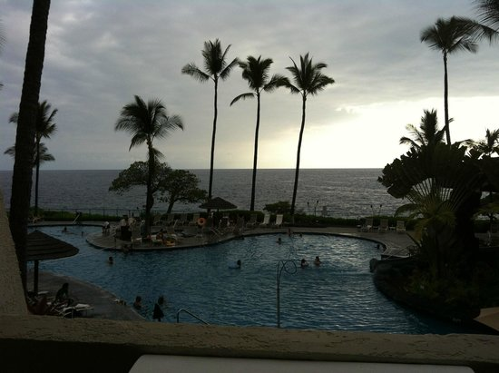 Sheraton Kona Resort & Spa at Keauhou Bay : Great view from room 3216