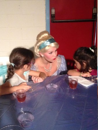 Story Land: tea time with cinderella