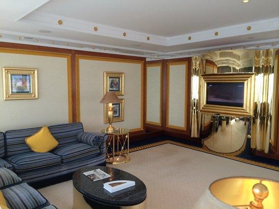 Burj Al Arab Jumeirah : Living Room
