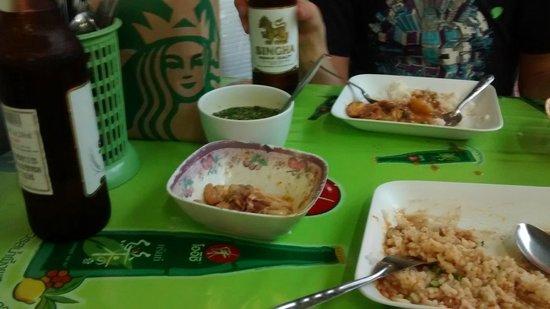 Baiyoke Sky Hotel: Street food @55 baht p.p.