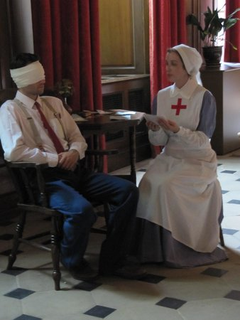 Dunham Massey Hall & Gardens: Actors at work