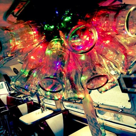 The Tube Diner: Up cycled glass Coke bottle lamp