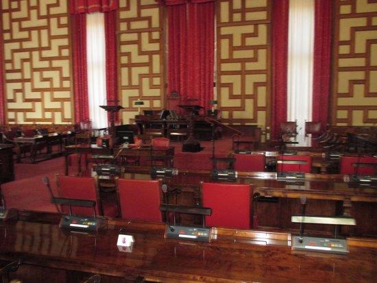 Ayuntamiento: Una de las salas