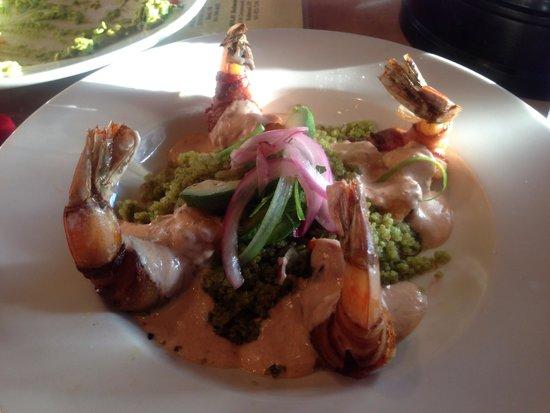 Hola Sunriver : Yummy Shrimp dish