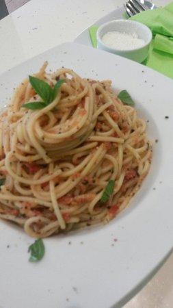 Salt and Sugar: Fresh tomato and basil....