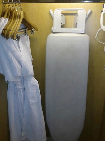 PARKROYAL on Beach Road: bathrobes, iron, ironing board