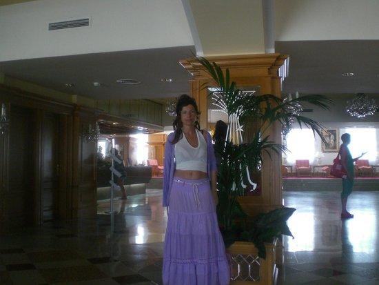 Hotel Riu Palace Maspalomas: Elegant reception...